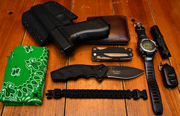 This is what my everyday carry used to look like. As your situation changes, your gear choices and options can adjust with it.