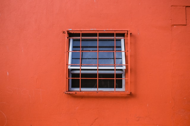 Home Fortification can also use window bars to keep people out.