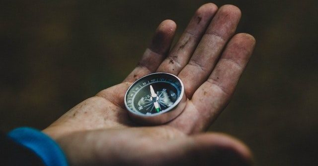 How to read a road map? You need a compass first.