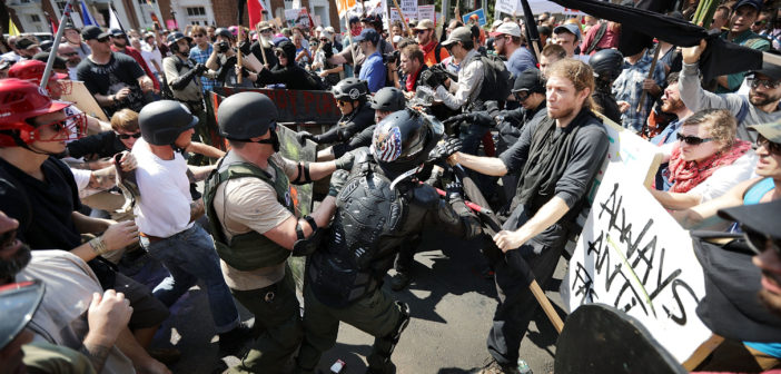 Armed protests have a way of escalating quickly.