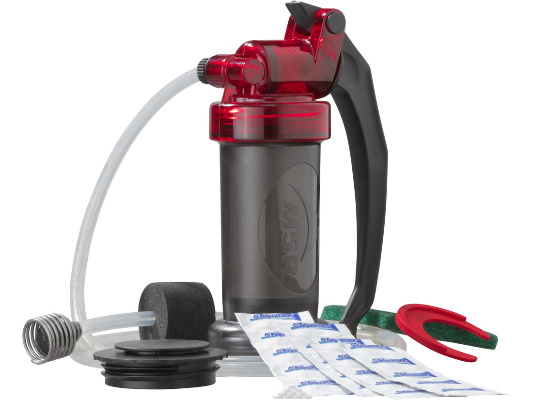 MSR Miniworks - survival water filter