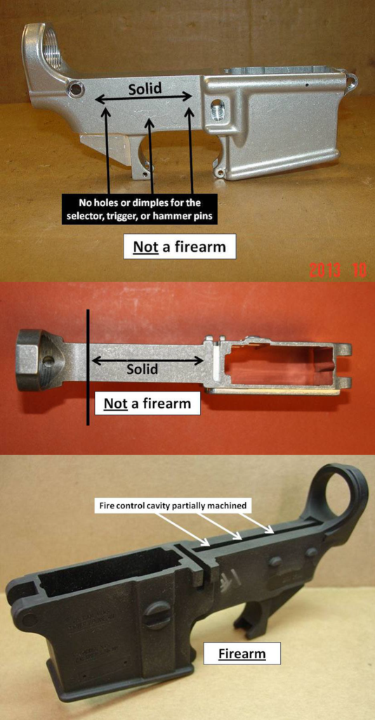According to the ATF - 80% lowers are not firearms