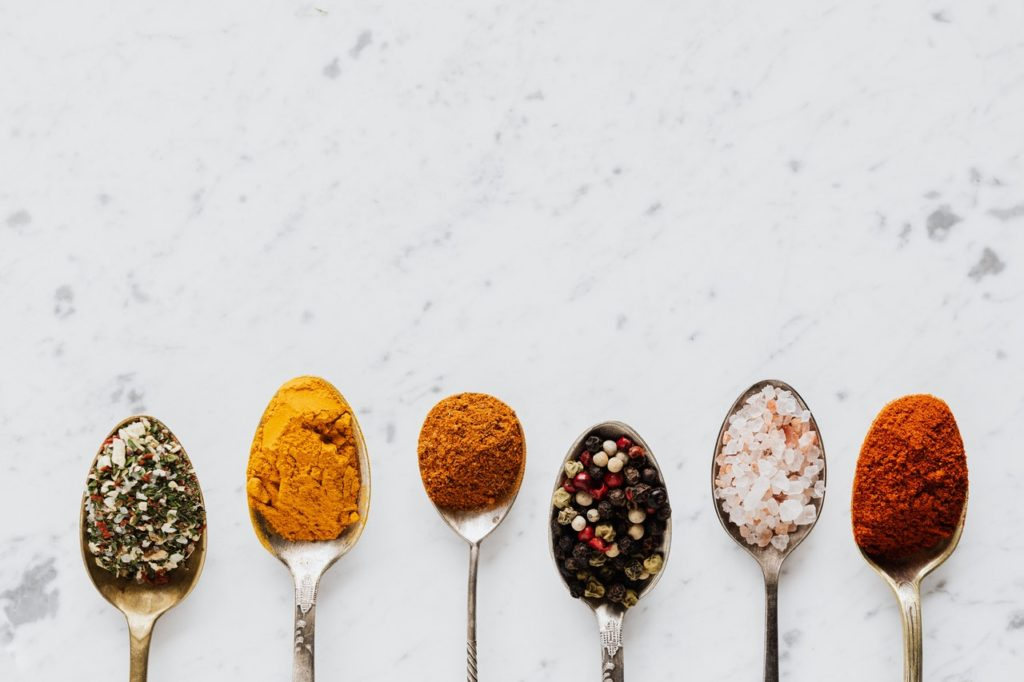 Make sure you add spices and oils to your survival food pantry supplies.