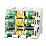 FIFO Can Tracker | Stores 54 cans | Rotates First in First Out | Canned Goods Organizer for Cupboard, Pantry and Cabinet | Food Storage | Organize Your Kitchen | Made in USA