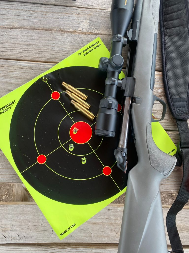Eye and ear protection is necessary to have a safe shooting experience.