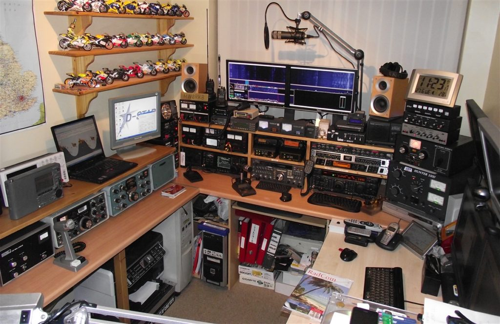 Amateur Radio like all other hobbies can grow to include a lot of extra features and equipment.